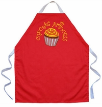 Cupcake Princess Kids Apron