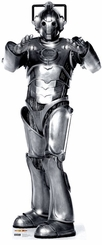 Cyberman from Dr. Who Cardboard Cutout Life Size Standup