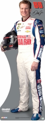 Dale Earnhardt Jr. NATIONAL GUARD Cardboard Cutout Life Size Standup