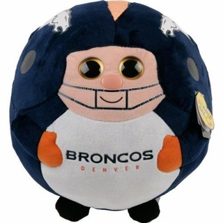 Denver Broncos Ty Beanie Ball - Click to enlarge
