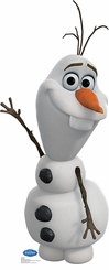 Disney's Olaf from Frozen Cardboard Cutout Life Standup