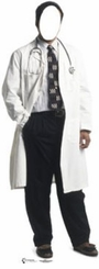 Doctor Stand-In Cardboard Cutout Life Size Standup