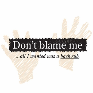Don't Blame Me Maternity Nightshirt - Click to enlarge