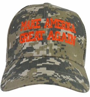 Donald Trump Make America Great Again Hat Desert - Click to enlarge