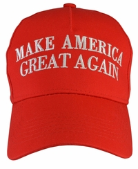 Donald Trump Make America Great Again Red Hat 100% Cotton
