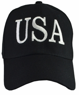 Donald Trump USA 45 Hat - Black - Click to enlarge