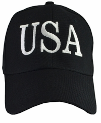 Donald Trump USA 45 Hat - Black