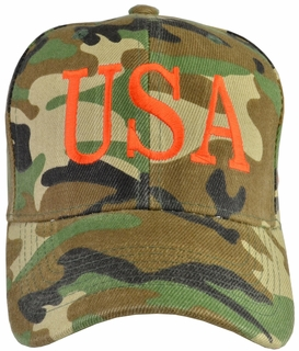 Donald Trump USA 45 Hat - Camo - Click to enlarge