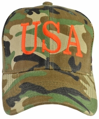 Donald Trump USA 45 Hat - Camo