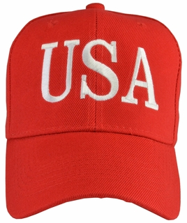 Donald Trump USA 45 Hat - Red - Click to enlarge