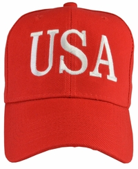 Donald Trump USA 45 Hat - Red
