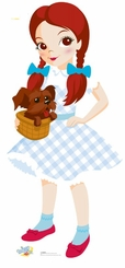 Dorothy of Wizrd of Oz Kids Coleection Cardboard Cutout Life Size Standup
