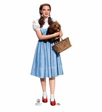 Dorothy & Toto, Wizard of Oz Cardboard Cutout Life Size Standup