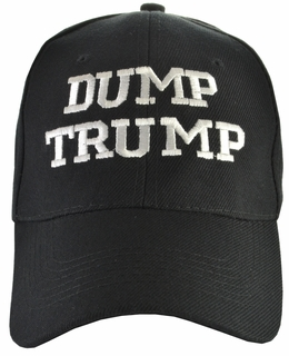 Dump Trump - Anti-Trump Black Hat - Click to enlarge