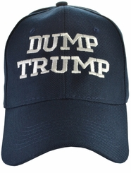Dump Trump - Anti-Trump Navy Blue Hat