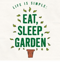 Eat Sleep Garden Apron