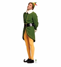 Elf Concerned – Movie Elf Cardborad Cutout Life Standup