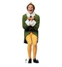 Elf Excited – Movie Elf Cardboard Cutout Life Size Standup