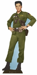 Elvis Army Days Cardboard Cutout Life Size Standup