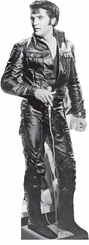 Elvis Presley Black Leather Cardboard Cutout Life Size Standup
