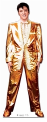Elvis Presley Gold Lam� Cardboard Cutout Life Size Standup
