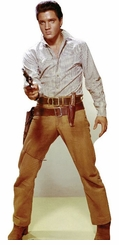 Elvis Presley Gunfighter Cardboard Cutout Life Size Standup