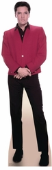 Elvis Red Jacket Cardboard Cutout Life Size Standup