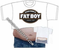 Ever Ride A Fat Boy...want to t-shirt