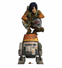Ezra and Chopper – Star Wars Rebels Cardboard Cutout Life Size Standup