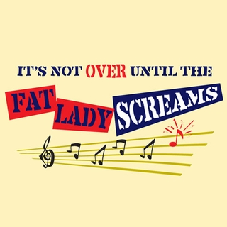 Fat Lady Screams Maternity Nightshirt - Click to enlarge