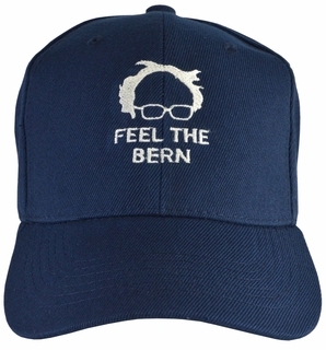 Feel The Bern - Navy Hat - Click to enlarge