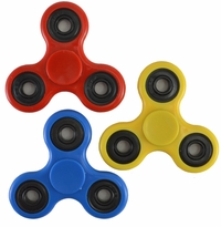 Fidget Spinner 3 Piece Set (RED, BLUE, AND YELLOW)