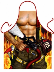 Firefighter/Fireman Funny Novelty Apron