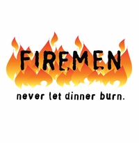 Firemen Never Let Dinner Burn Apron