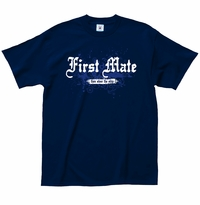 First Mate Then Steer T-Shirt