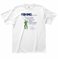 Fishing Definition T-Shirt