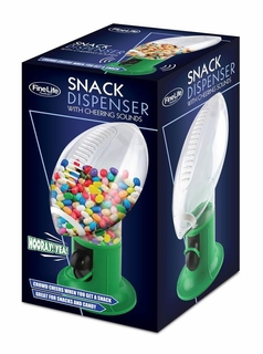 Football Snack Dispenser With Cheering Sounds - Click to enlarge