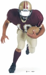 Football Stand-In Cardboard Cutout Life Size Standup