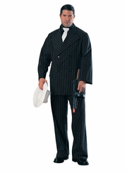 Gangster (in black pinstripe suit) Cardboard Cutout Life Size Standup