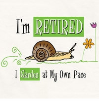 Garden At My Own Pace Apron