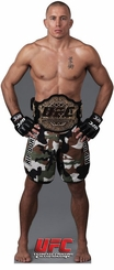Georges St. Pierre from UFC Cardboard Cutout Life Size Standup