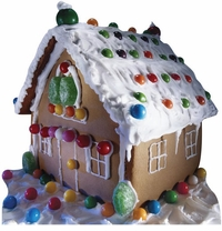 Ginger Bread House Cardboard Cutout Life Size Standup