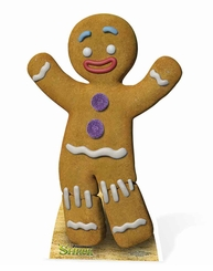 Gingy the Gingerbreadman Cardboard Cutout Life Size Standup
