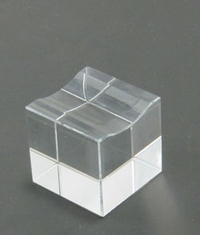 Glass Paperweight Stand