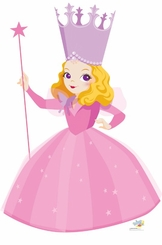 Glinda the Good Witch of Wizard of Oz Kids Collection Cardboard Cutout Life Size Standtup