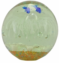 Glow in the Dark Small Sea Globe (White)