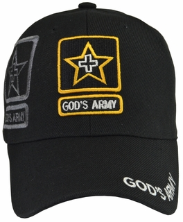God's Army Black Hat - Click to enlarge