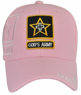 God's Army Pink Hat - Click to enlarge