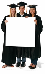 Graduation Sign Cardboard Cutout Life Size Standup