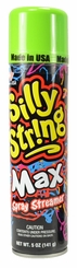 Green Silly String Max 5oz Can Made in the USA
